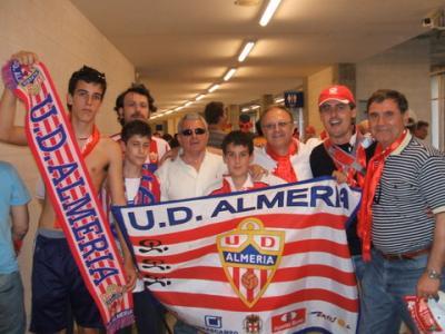 PEÑA MADRIDISTA ABULENSE. Almería a Primera