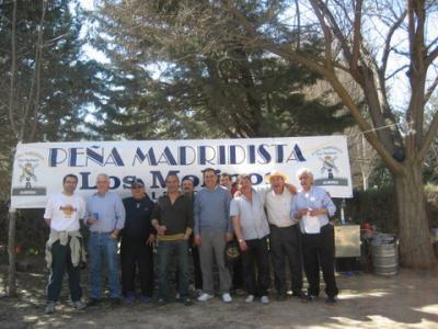 PEÑA MADRIDISTA ABULENSE. Visita Peña Los Molinos