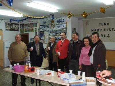 PEÑA MADRIDISTA ABULENSE. Visita del Alcalde y Concejales