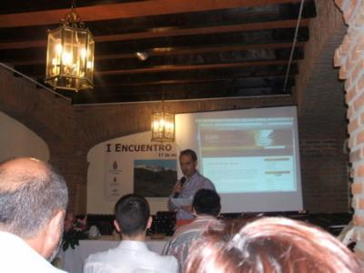PEÑA MADRIDISTA ABULENSE.   I Encuentro Rural de Blogs.