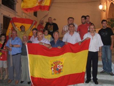 PEÑA MADRIDISTA ABULENSE. España, Campeón de Europa