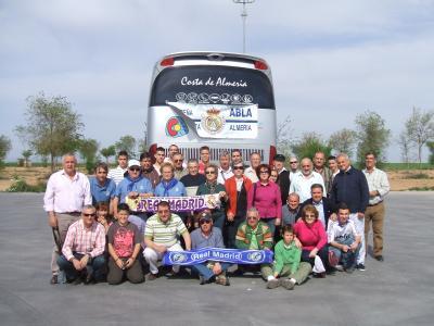 PEÑA MADRIDISTA ABULENSE. Próximo Viaje. Real Madrid - Recreativo de Huelva. 23/11/2008.