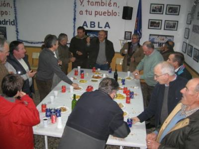 PEÑA MADRIDISTA ABULENSE. Vino de Navidad.27/12/2008