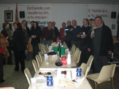 PEÑA MADRIDISTA ABULENSE. Lumbres de S. Sebastian. 19/01/2009