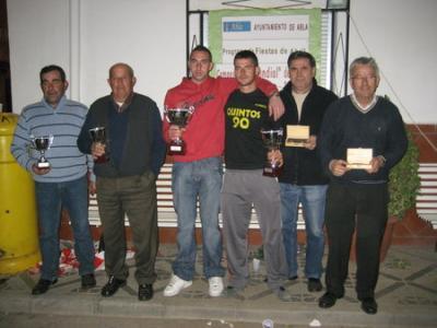 PEÑA MADRIDISTA ABULENSE. Campeonato  de CACHAS, por parejas. 17/04/2009
