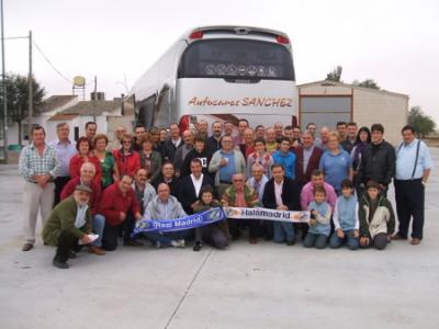 Viaje al Santiago Bernabeu. Real Madrid-Valladolid. 17/10/2009
