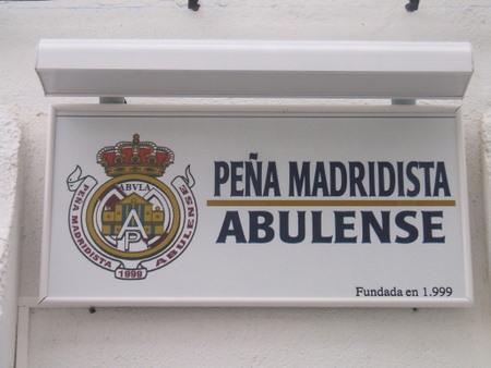 PEÑA MADRIDISTA ABULENSE. Asamblea General. 24/01/2008