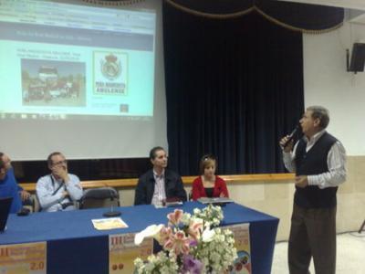 Peña  Madridista Abulense. III Encuentro Rural de Blogs entre Generaciones.17/05/2010