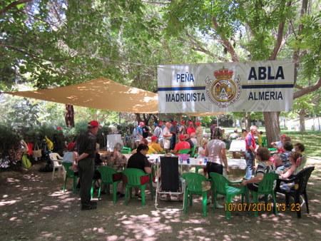 PEÑA MADRIDISTA ABULENSE. DIA DEL SOCIO. 10/07/2010