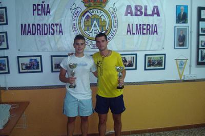 PEÑA MADRIDISTA ABULENSE. Campeonato  de TENIS DE MESA. 29/07/2010
