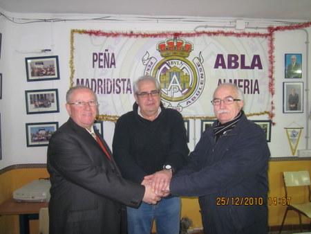 PEÑA MADRIDISTA ABULENSE. 25/12/2010. Nuevo Socio