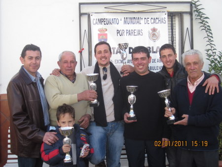 PEÑA MADRIDISTA ABULENSE. 02/01/2011. Campeonato de Cachas.