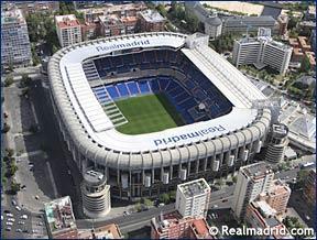 Viaje al Santiago Bernabeu. Real Madrid-Sporting de Gijón. 2 ó 3 de Abril