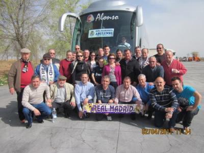 Viaje al Santiago Bernabeu. Real Madrid-Sporting. 02/04/2011