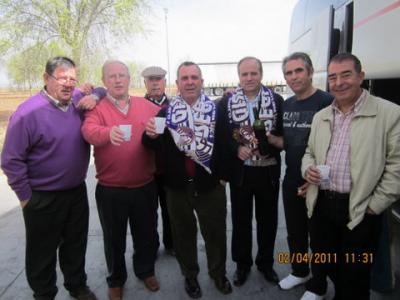 PEÑA MADRIDISTA ABULENSE. 02/04/2011. Nuevo socio de la Peña