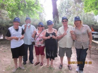 PEÑA MADRIDISTA ABULENSE. 09/07/2011. Nuevos Socios temporada 2010-11