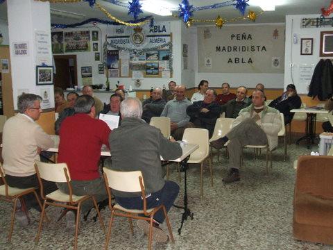 PEÑA MADRIDISTA ABULENSE. Asamblea Anual Ordinaria y Elecciones a Junta Directiva.