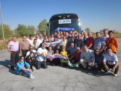 PEÑA MADRIDISTA ABULENSE. Viaje al Real Madrid-Málaga.