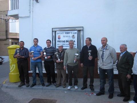 PEÑA MADRIDISTA ABULENSE. 22-04-2012. Campeonato de Cachas.