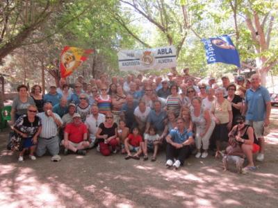 PEÑA MADRIDISTA ABULENSE. 14/07/2012. DIA DEL SOCIO