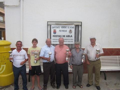 PEÑA MADRIDISTA ABULENSE. 05-08-2012. Campeonato de Cachas.