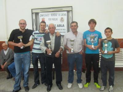 PEÑA MADRIDISTA ABULENSE. 13-04-2013. Campeonato de Cachas.